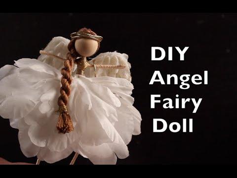 DIY Angel Fairy Doll   How To Make An Angel Fairy Doll Tutorial