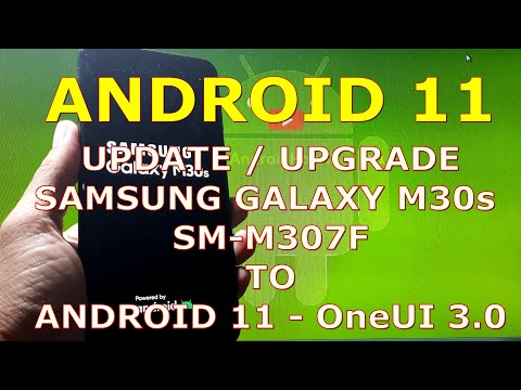 How to Update / Upgrade Samsung Galaxy M30s SM-M307F to Android 11 Official