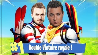GOTAGA & SQUEEZIE EN DUO ► ON ENCHAINE LES TOP1 SUR FORTNITE
