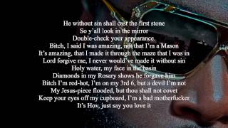 Rick Ross Ft Jay Z - Freemason [Lyrics Video] HD