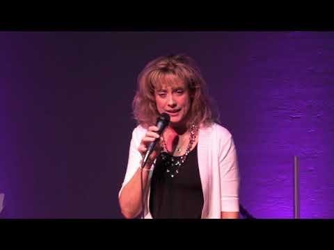 Heather Thomas Van Deren singing at Southern Gospel concert - Lavon, TX