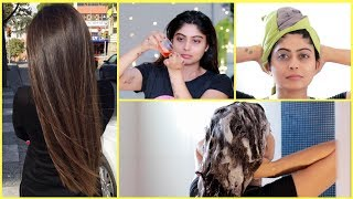 WINTER HAIRCARE ROUTINE 2018 | How to get Long, Shiny and Healthy Hair | Rinkal Soni