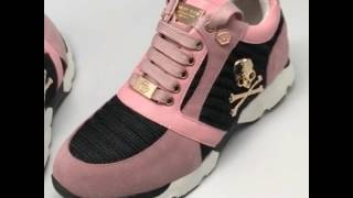 Модные женские кроссовки 2017-2018 купить - обзор модели кроссовки Philipp Plein