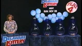 Delaware Lottery Drawing - November 28, 1993