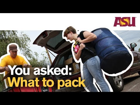 You Asked: What do Arizona State University (ASU) students say to bring on your college dorm haul?