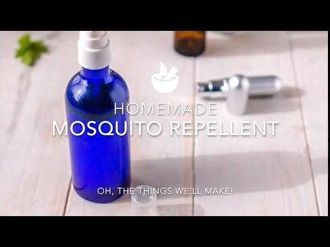 Essential Oils for Mosquitos & Homemade Repellent Spray