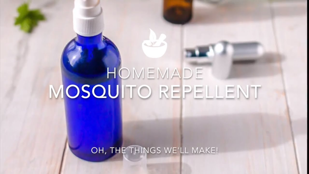 Essential Oils for Mosquitos & Homemade Repellent Spray Recipe - Oh