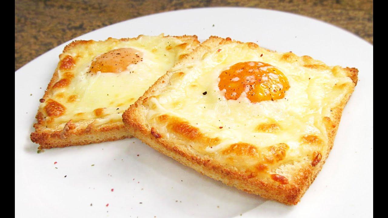 Tostadas Con Huevo Y Queso Desayunos Fáciles Y Rápidos