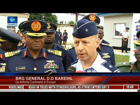 Chief Of Air Staff Speaks On US Airforces Africa / Nigerian Airforce Partnership Flight