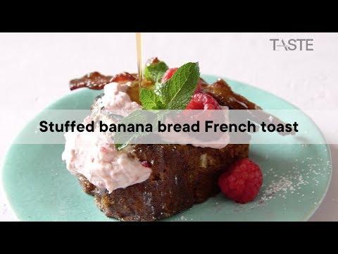 Stuffed banana bread French toast | Woolworths TASTE Magazine