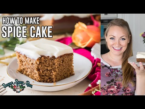 How To Make Spice Cake