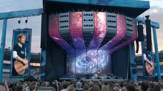 Ed Sheeran - Thinking Out Loud (Live) Sweden Gothenburg Ullevi 10 Juli (4K)