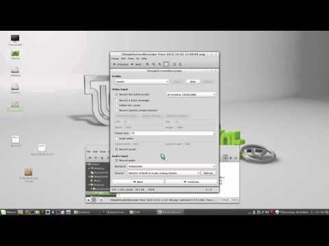 Linux Mint 17 - Simple Screen Recorder