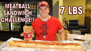 3FT MEATBALL SANDWICH CHALLENGE IN CHICAGO!!