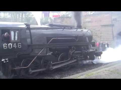 Churnet Valley Railway - Winter Steam Gala 2014 - Kingsley and Froghall Station