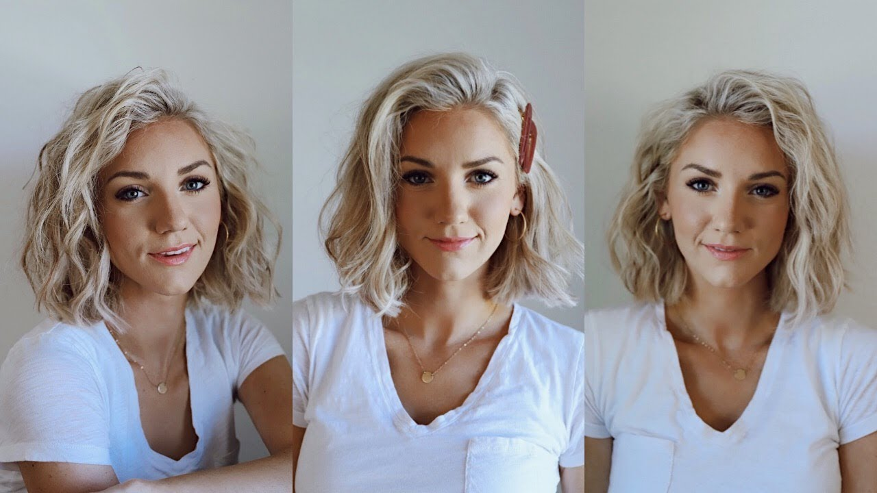 3 Ways To Curl Short Hair You