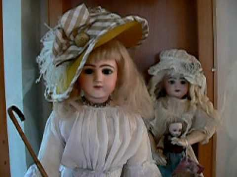 Old Antique Victorian Dolls You