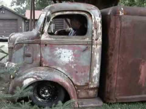 Chris 1946 Ford COE Rat Rod First Road Trip - YouTube