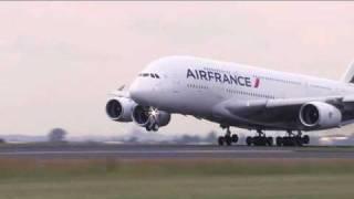Air France - Premier A380 en Afrique du Sud