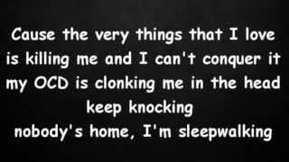 Repeat youtube video Eminem - The Monster (Lyrics) ft.  Rihanna