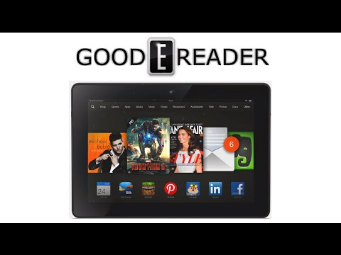 Amazon Kindle Fire HDX 8.9 Unboxing