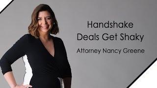 Handshake Deals Get Shaky