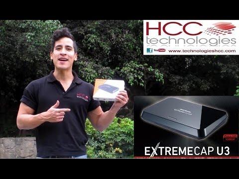 Captura y Streaming de video Full HD 1080p 60 fps USB 3.0 Extreme Cap U3 CV710 AVerMEdia