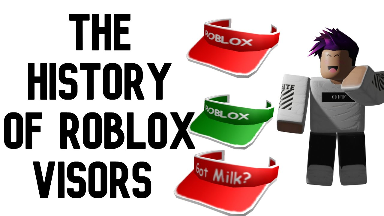 The History Of Roblox Visors Youtube