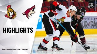 Senators @ Coyotes 10/19/19 Highlights