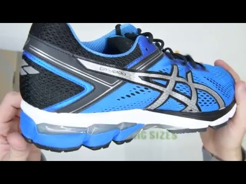 asics-gt-1000-4---blue-/-silver-/-black---walktall-|-unboxing-|-hands-on
