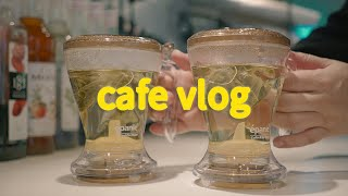 Eng) cafe vlog ☕ | blessroll |…