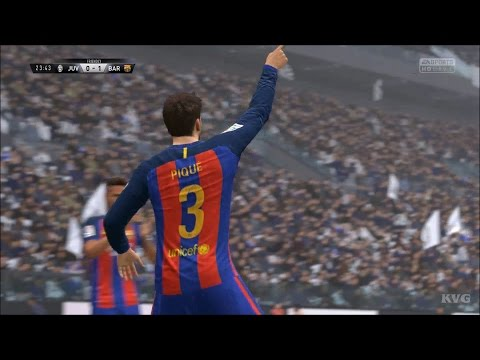 FIFA 17 - Juventus Torino vs FC Barcelona | Gameplay (HD) [1080p60FPS]