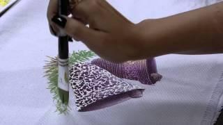 Pintura em tecido de sacaria – Julia Passerani P2