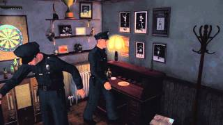 LA Noire Gameplay #2   Bank Robbery & Shoot Out!