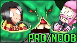 FLOATING TENTACLES + MOUNTAIN CRABS - Pro and Noob VS Old Monster Hunter! (Special Edition) #mh