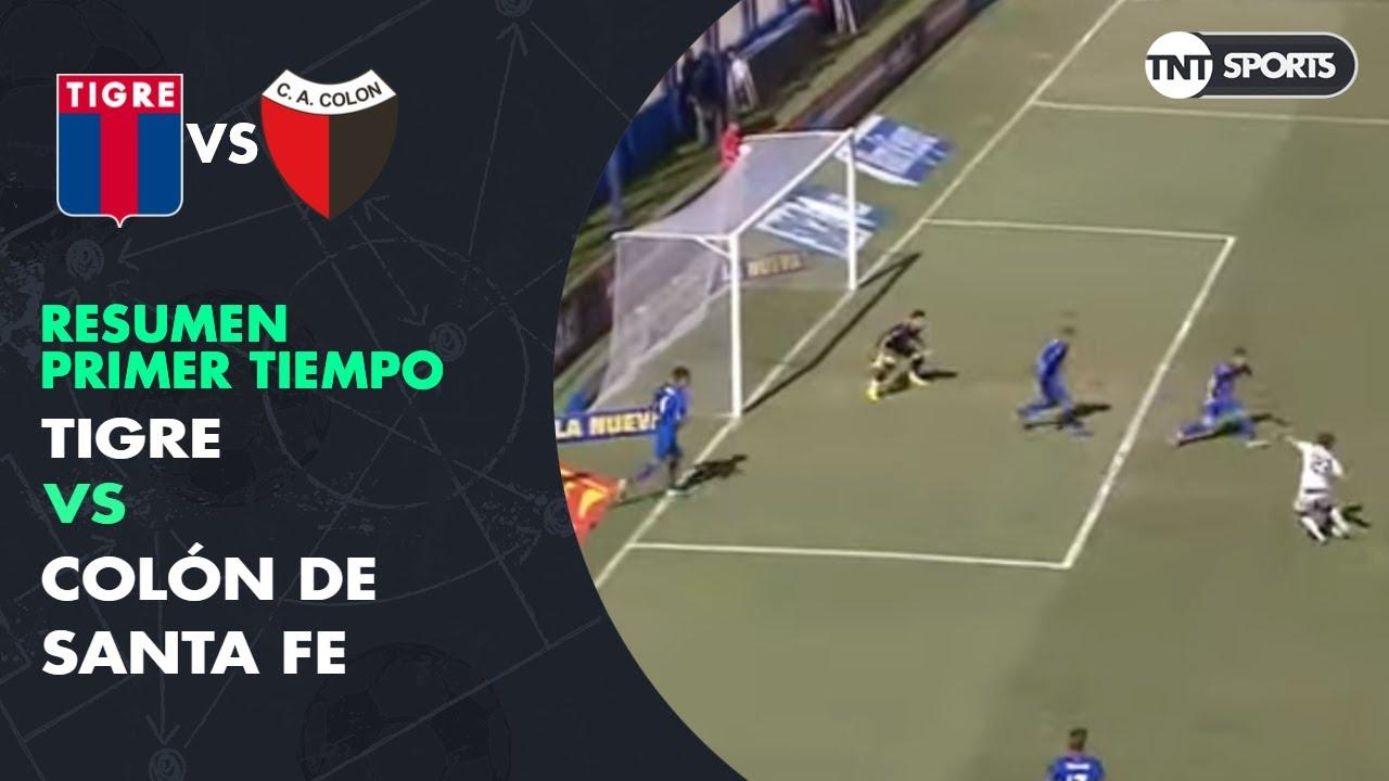 Resumen Primer tiempo: Tigre vs Colón SF | Primera Rueda (vuelta) - Copa Superliga 2019