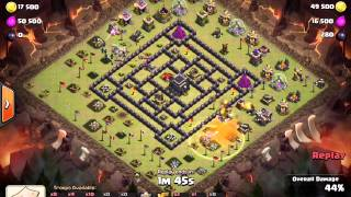 Clash of Clans : Laksa County Vs Chinese Clan - 3 Stars TH9 by nana