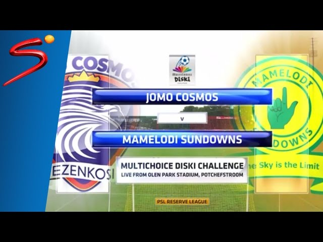 MultiChoice Diski Challenge 2015/16 Rd 11: Jomo Cosmos 1-2 Sundowns
