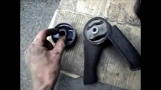 Замена подушки (опоры) ДВС Митцубиси Лансер Цедиа Wagon GDI