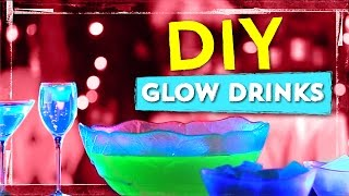 Glow-in-the-Dark Drink Recipes