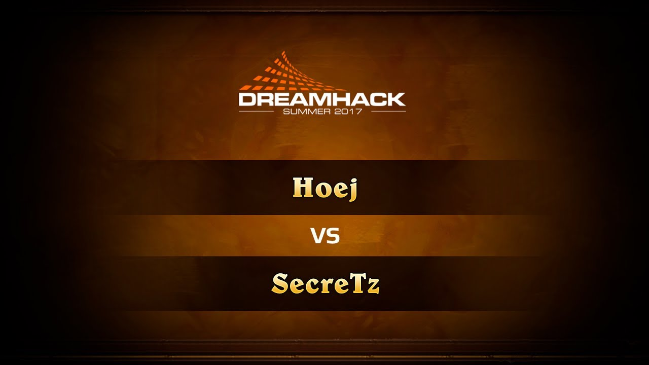 Hoej vs SecreTz, 1/8 DreamHack Summer 2017