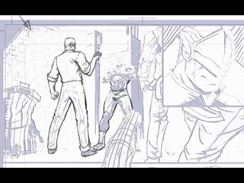 David Finch finished pencil tutorial part 1