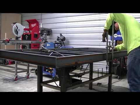 Welding Table Build 4'x8' 1of4