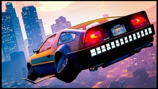 "GTA 5 Online - NEW ""DELUXO"" Flying Car  DLC GAMEPLAY & CUSTOMIZATION! (GTA 5 THE DOOMSDAY HEIST)"
