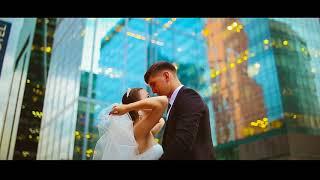 Настоящая свадьба в Москве / Москва-Сити / Красная Площадь - Нежность  - Наргиз и Фадеев