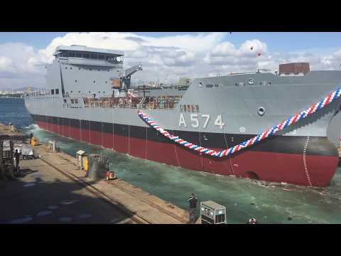 6200 DWT Logistic Support Vessel for Turkish Navy
