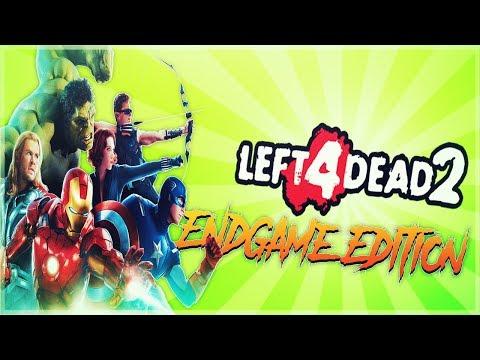 L4D2 - Avengers Endgame Edition - Thanoss Son Greg - Comedy Gaming