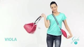Итальянская сумка трансформер VIOLA GABS(Эта оригинальная кожаная сумка-мешок под названием Viola от GABS понравится тем, кто любит большие и вместитель..., 2015-03-19T16:49:11.000Z)