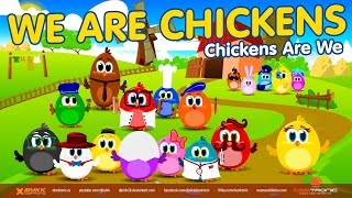 We Are Chickens - Hit Chicken Song for Kids in English
