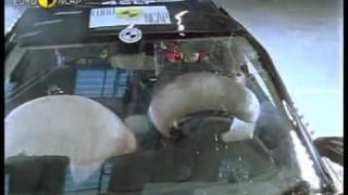 Краш тест Renault Laguna 2001 (E-NCAP)
